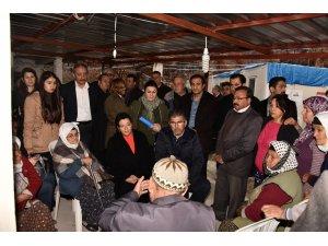 Vali Civelek, Zeytinköy Mahallesi'nde İncelemelerde Bulundu
