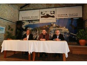 Uluslararası Bodrum Kale Çalıştayı basın toplantısı