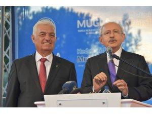 Kılıçdaroğlu'ndan Muğla Büyükşehir Belediye Başkanı Gürün'e övgü