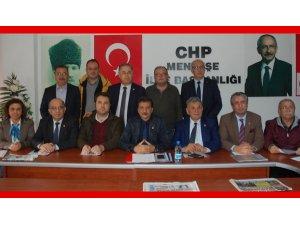 CHP'li 12 İlçe Başkanı Mürsel Alban'ı Aday Gösterdi