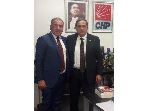 Hacı Ali Elibal CHP Genel Başkan Yardımcısı Seyit Torunu ziyaret etti
