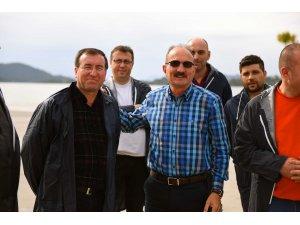 Şehit Fethi Bey'in uçağı, rekreasyon alanına koyuldu