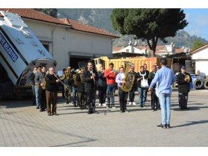 Belediyede Taşeron İşçi kadrosu sınavları başladı