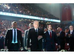 MHPde Devlet Bahçeli yeniden Genel Başkan seçildi