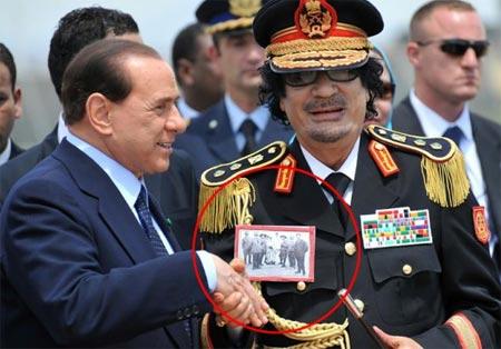 Kaddafiden olay fotoğraf