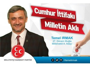 Temel Irmak Milletvekili aday adayı oldu