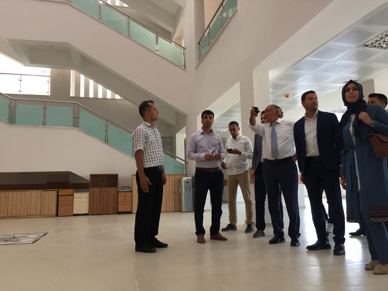 AK Parti Muğla Milletvekili Yavuz Demir Milas'ta