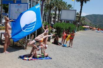 Halk Plajına Mavi Bayrak
