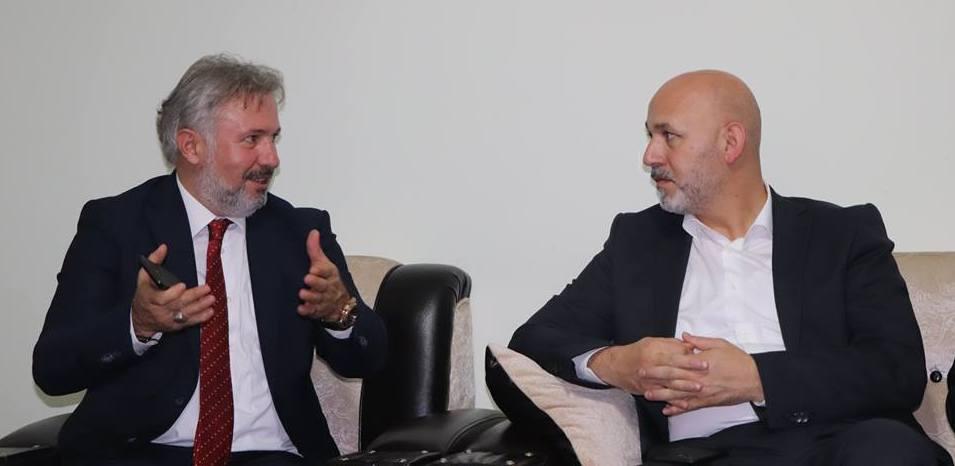 SAMSUN Ak Parti İl Başkanı Hakan Karaduman Ayvacıka Anlamlı ziyaret