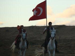 """TRT'de yayınlanan """"Mehmetçik Kutlu Zafer"""" dizisi ilgi gördü"""