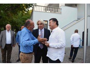 Mehmet Kocadon, Başkan Saatcıyı ziyaret etti.