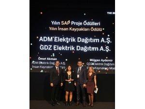 """ADM ve GDZ Elektrik Dağıtım'a """"Yılın İnsan Kaynakları Ödülü"""""""