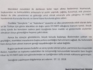 İYİ Partide istifalar sürüyor... Kritik 3 isim istifa dilekçesini verdi.