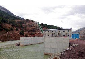 Bereket Enerji Grubu'nun 22. hidroelektrik santrali Akıncı HES devreye alındı