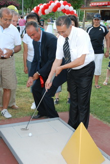 İçmeler'e mini golf sahası