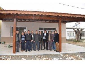 Kızılcayıkık mahallesinde köy kahvesi yenilendi
