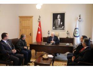 Başkan Gürün'e Teşekkür Ziyareti