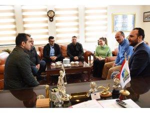 Dalyan'dan Başkan Saatcı'ya destek ziyareti