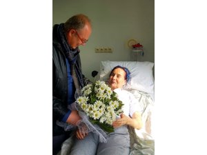 Dr. Tahir Ateşten Fatma Girike ziyaret