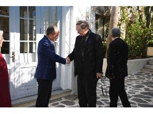 AB Büyükelçisi Berger, Başkan Saatcıyla görüştü