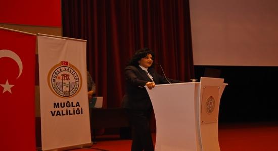 """Muğla'da """"Bağımlılıkla Mücadele"""" Konulu Konferans Düzenlendi"""