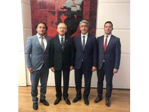 Oktaydan Kılıçdaroğluna ziyaret