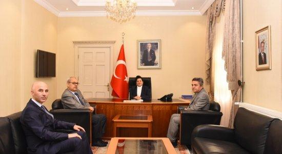 Sosyal Güvenlik Haftası Dolayısıyla Vali Civelek'e Ziyaret