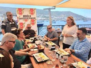 MGC'nin Bodrum üyeleri kahvaltıda buluştu