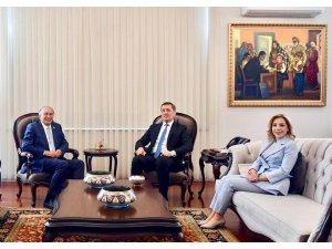 Milletvekili Demir ve Gökcan Milli Eğitim Bakanını ziyaret etti