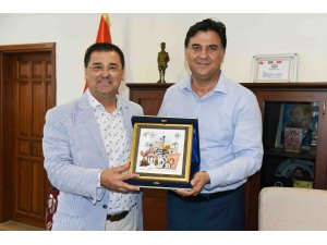 Milas'tan Başkan Karaca'ya anlamlı ziyaret