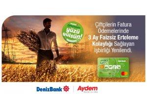 Aydem ve DenizBank'tan Çiftçilere Ödeme Kolaylığı Sağlayacak İşbirliği