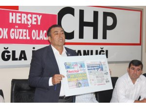 CHP'Lİ ALBAN'DAN SUÇLAMALARA BELGELİ YANIT