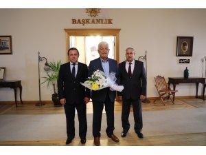 Zabıta Teşkilatı'ndan Başkan Gürün'e ziyaret
