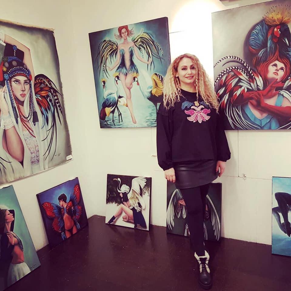 Genç Ressam Sevinç Sürer Bir Çok Başarılara İmza Attı