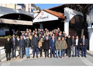 Muğlada Basın Parkı 10 Ocak'ta Açıldı