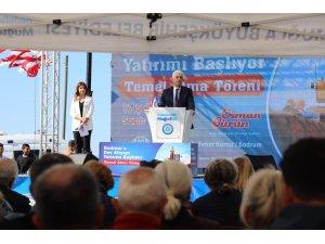 Büyükşehirden Bodrum'da Görkemli Temel atma Töreni
