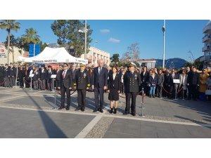 Mustafa Kemal Atatürk'ün Marmaris'e gelişinin 85. Kutlandı