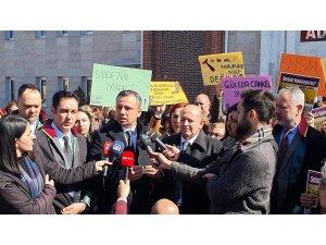 CHP'li Erbay Isparta'da öldürülen Muğlalı Güleda'nın davasını takip etti