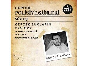 """TÜRKİYE'NİN İLK """"POLİSİYE GÜNLERİ"""" CAPITOL'DE!  12-15 MART 2020"""
