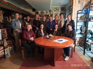 Kosova Prizen Orkide Kadınlar Derneği El Sanatları Grubu 15. Uluslararası Marmaris Kadın ve Sanat Festivalinde