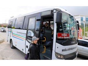Muğla'da 11 İlçede Sağlık Çalışanlarına Ücretsiz Servis