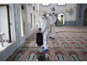 Fethiye Belediyesi'nden Camilere Detaylı Temizlik