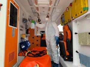 Muğlada Ambulanslar Her Nakilden Sonra Dezenfekte Ediliyor