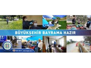 Muğla Büyükşehir Belediyesi Bayram Hazırlıklarını Tamamladı