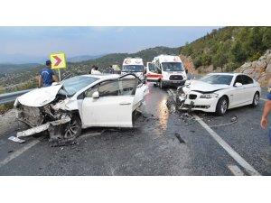 Aydın'da;Trafik kazalarının sayısı azaldı