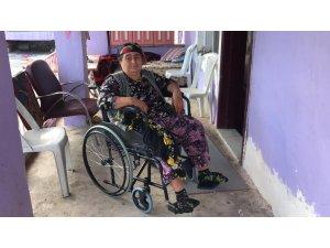 Şehit Annesi Tekerlekli Sandalyeye Kavuştu