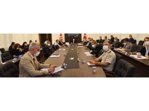 Vali Civelek Başkanlığında İl Pandemi Kurulu Toplantısı Yapıldı