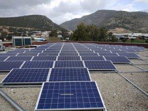 Muğla Büyükşehir Güneşi Elektriğe Çeviren Tesisler Yapıyor
