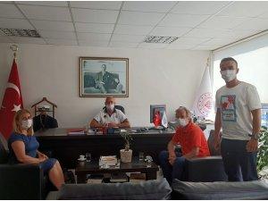 Marmaris Liman Başkanı Altuğ Kurban'a Ziyaret