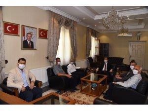 Güney Ege Otelciler Birliği'nden (GETOB) Vali Orhan Tavlı'ya Ziyaret